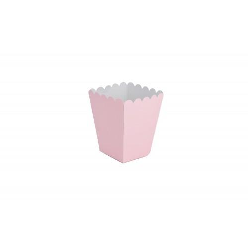Κουτί για Marshmallows Ροζ 9Χ9Χ11cm