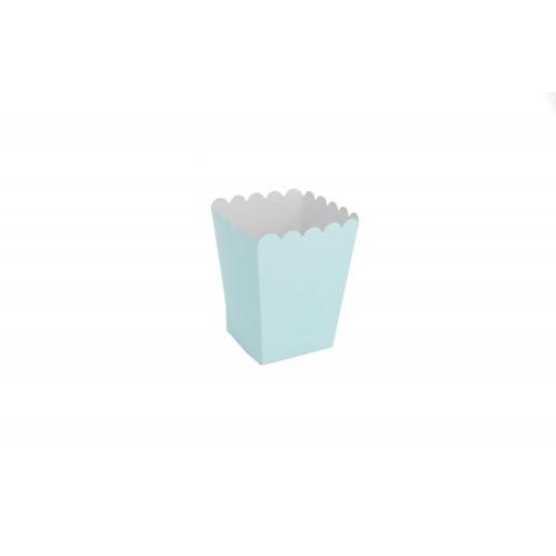 Κουτί για Marshmallows Σιέλ  9Χ9Χ11cm