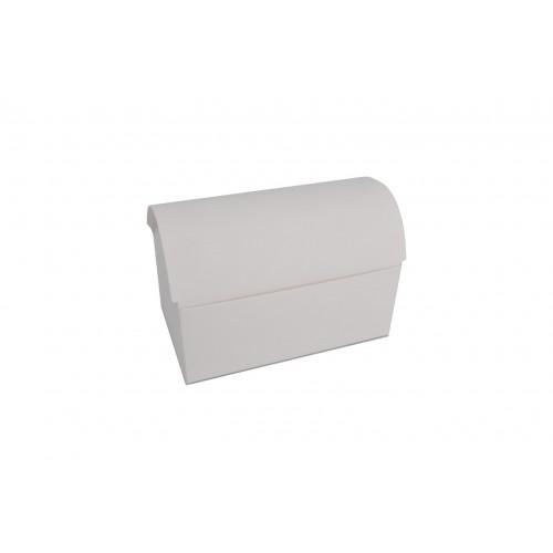 Κουτί Μπαουλάκι Λευκό 17.5Χ10.5Χ11cm