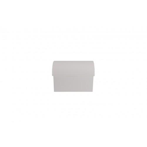 Κουτί Μπαουλάκι Λευκό 13Χ9Χ5.5cm