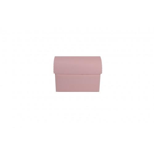 Κουτί Μπαουλάκι Ροζ 13Χ9Χ5.5cm