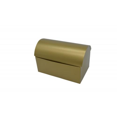 Κουτί Μπαουλάκι Χρυσό 17.5Χ10.5Χ11cm
