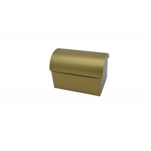 Κουτί Μπαουλάκι Χρυσό 13Χ9Χ5.5cm