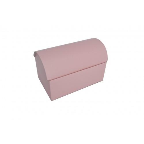 Κουτί Μπαουλάκι Ροζ 17.5Χ10.5Χ11cm