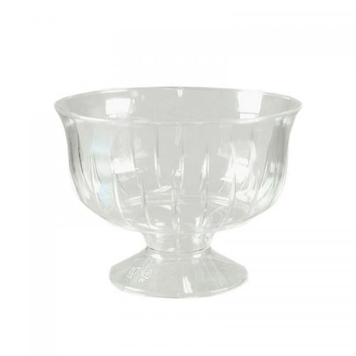 Κύπελλο Παγωτού Πλαστικό με Ποδαράκι Πακ 6τμχ 230cc