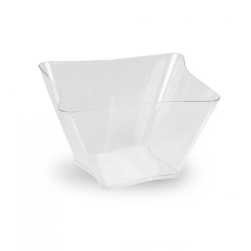 Πλαστικό Σκεύος Τετράπλευρο 200ml Πακ 70τμχ