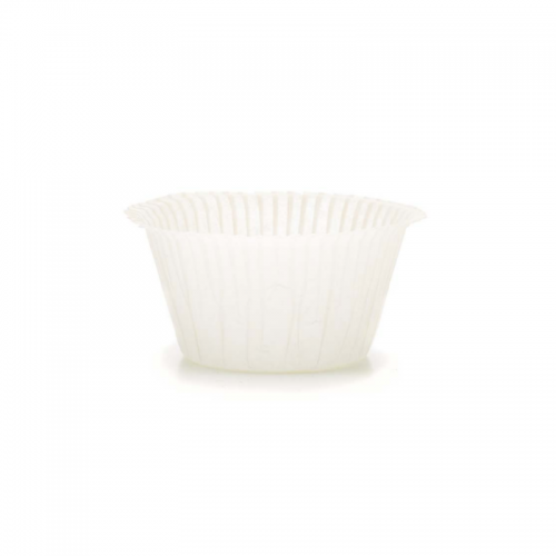 Muffin Cups No2 Λευκά Πακ 100τμχ