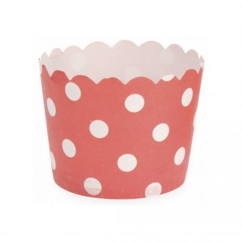 Θήκες Cupcakes Χάρτινες Διάφορα Σχέδια Σετ 25τμχ