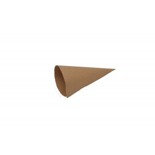 Χωνάκι Ζαχαρωτών Κραφτ 18.6Χ15cm
